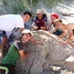 Projekty językowe na plaży