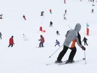 Obóz narciarski - góry