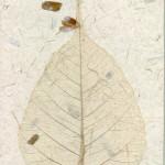 Papier czerpany - liście